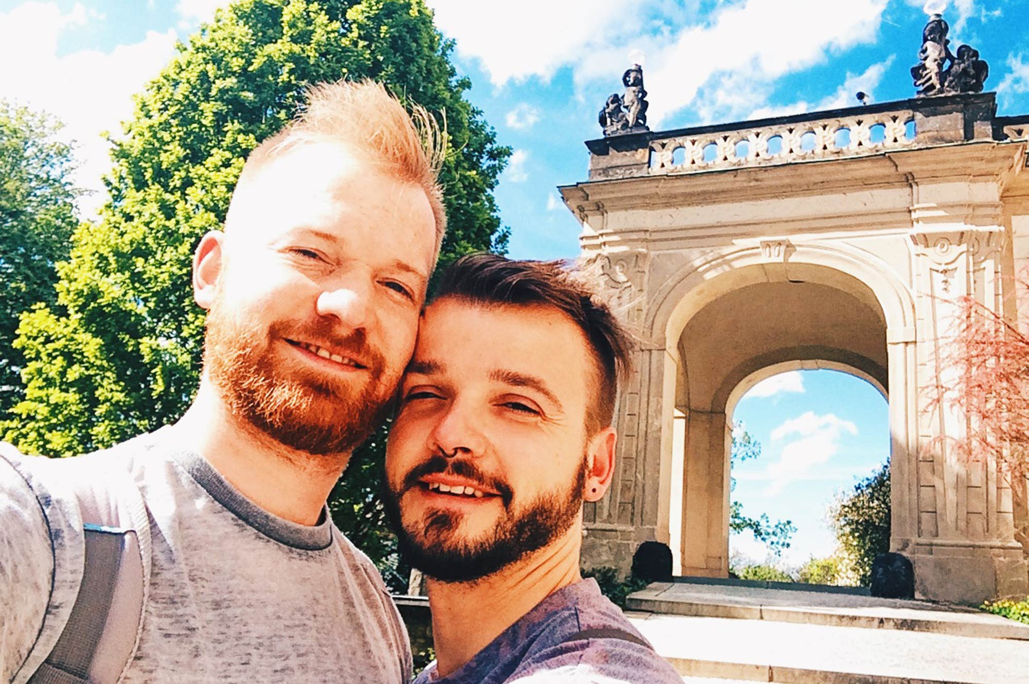 Gay Couple Travel: Our Spring City Weekend Prague | Czech Republic