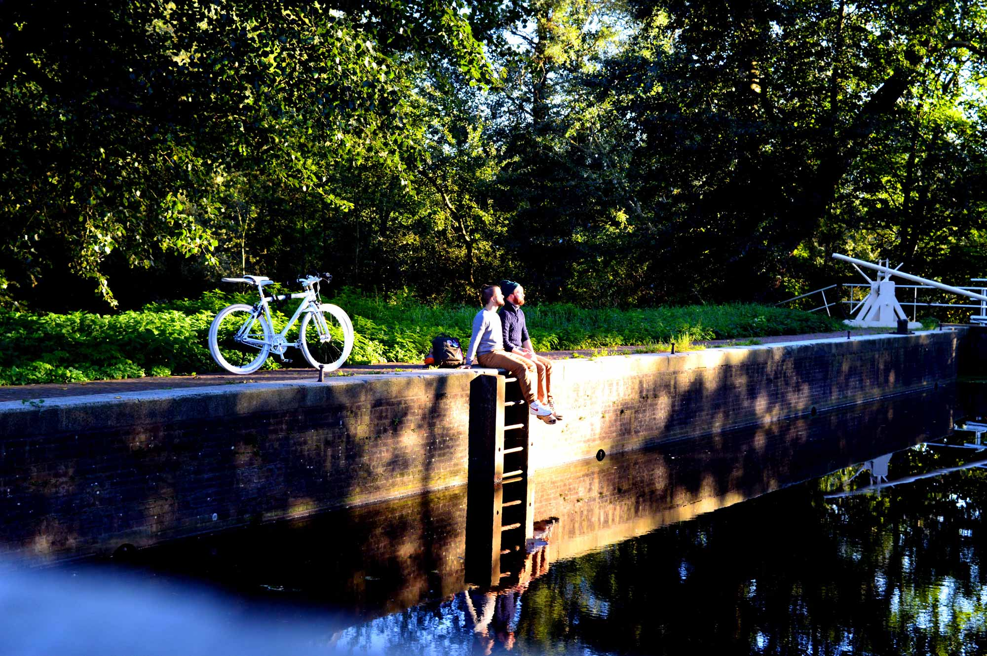 A Gay Couple Biking Trips | Amsterdam Forest