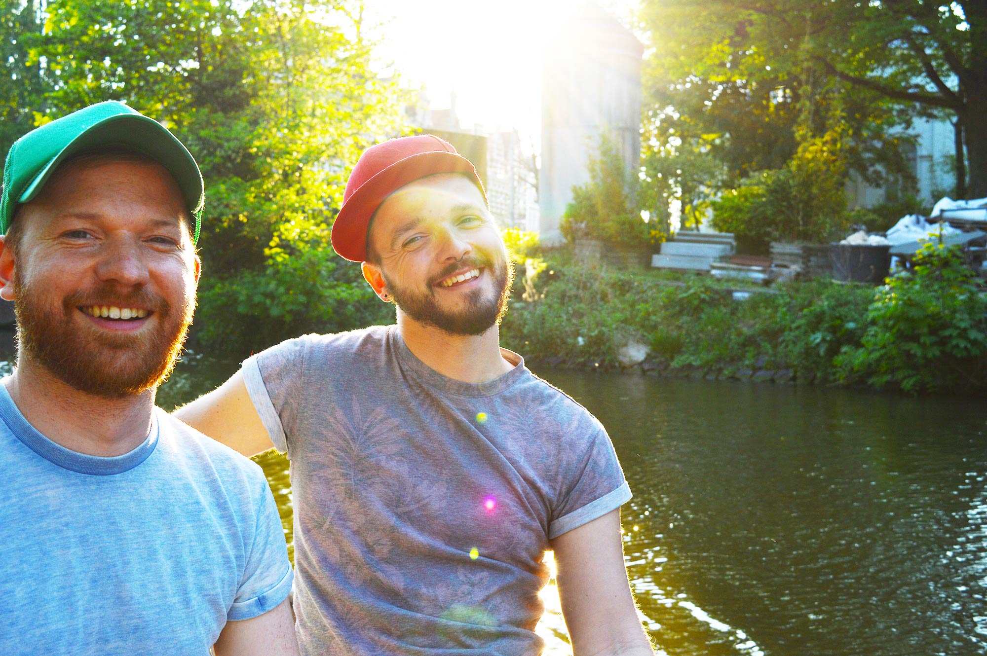 Gay Couple Travel: Our City Weekend at home in Amsterdam