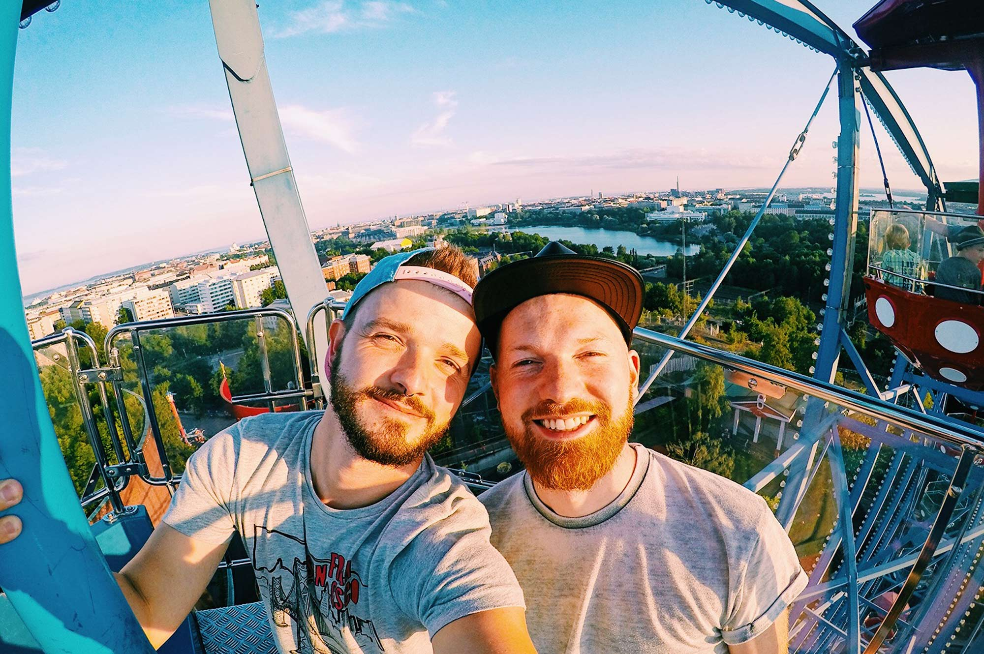 Our Day at Theme Park Linnanmäki in Helsinki | Finland