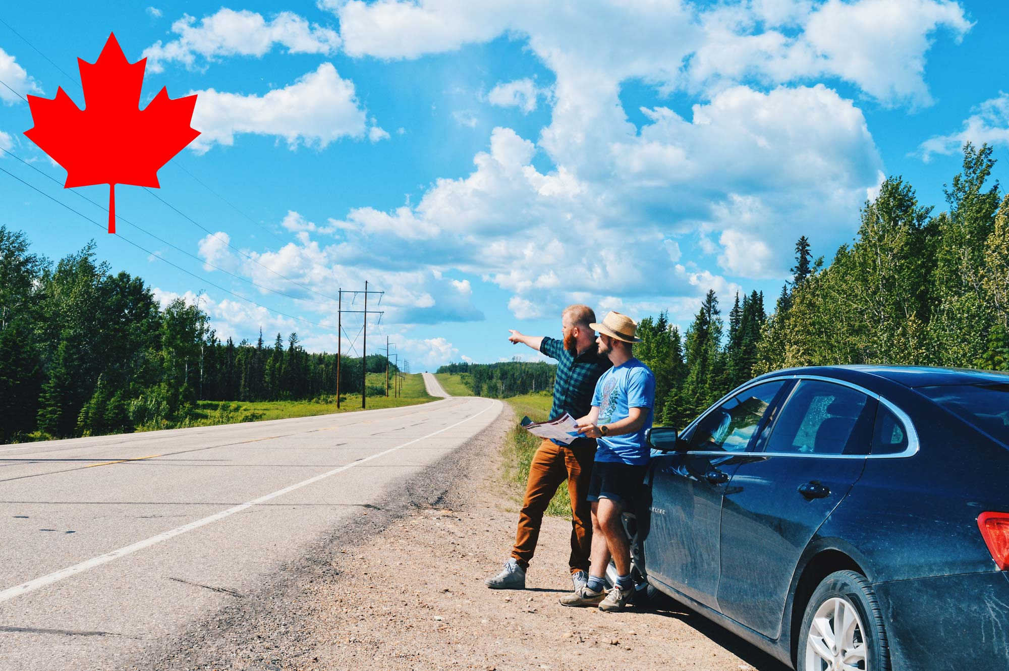 Gay Couple Traveling Canada | North America